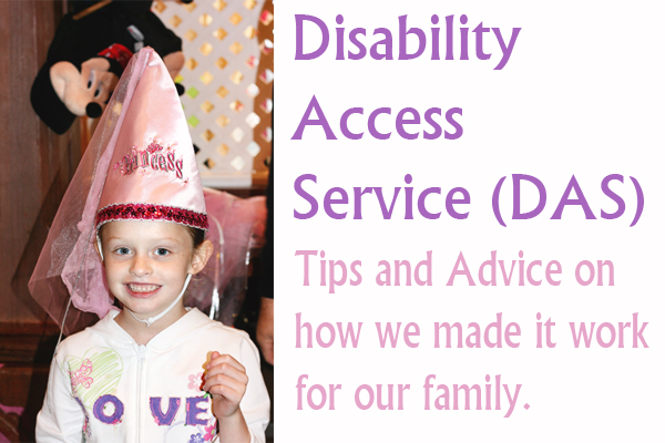 Disneyland's Disability Access Service (DAS). How we made it work for us.