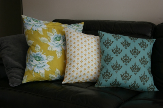 DIY Pillow Covers {Saving Up for Disney}