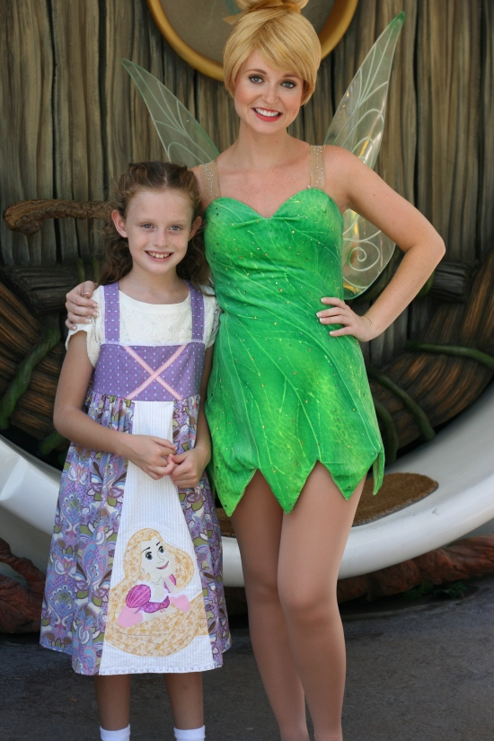Meeting Tink {Saving Up for Disney}