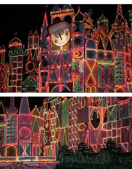 Beautiful Christmas decor at Disneyland {Saving Up for Disney}