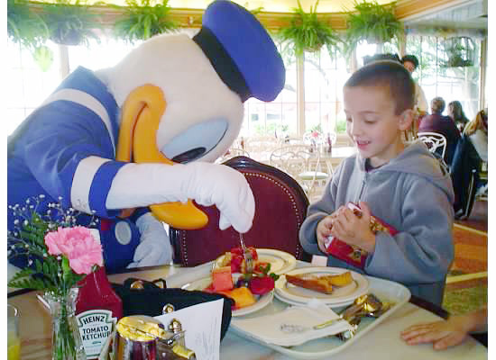 Disneyland breakfast {Saving up for Disney}