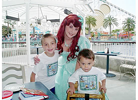 Ariel's Grotto 2006 {Saving Up for Disney}