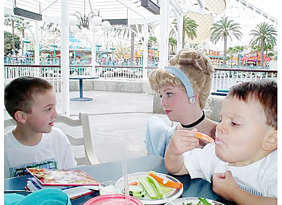 Oh, little Brothers! Ariel's Grotto 2006 {Saving up for Disney}