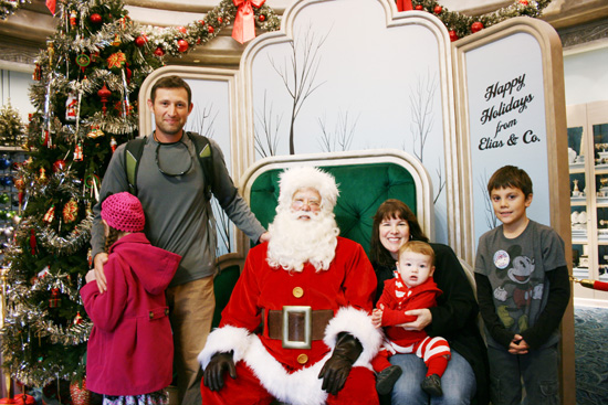 Meeting Santa at Disneyland {Saving up for Disney}