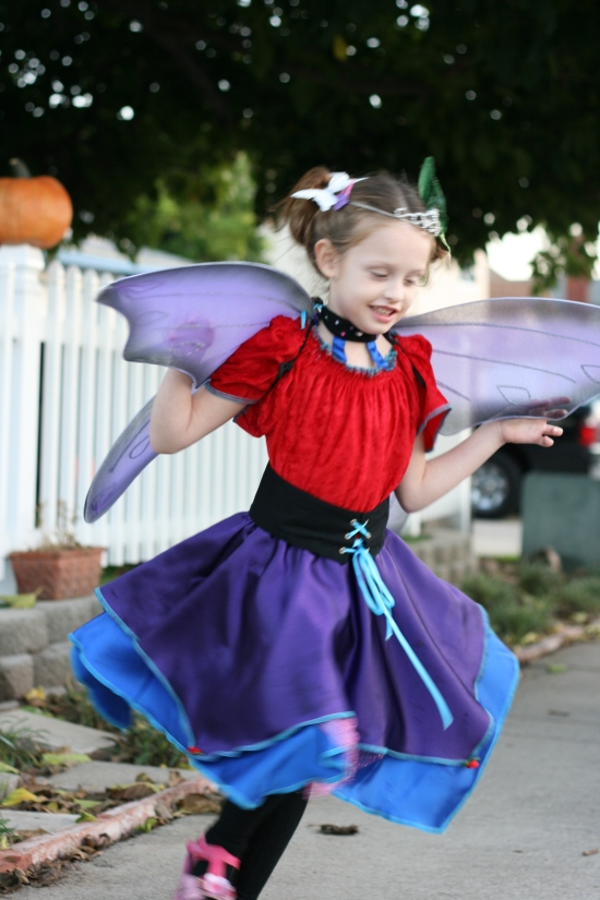 Butterfly Fairy Halloween costume {Saving Up for Disney}
