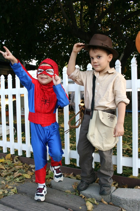 Handmade Halloween costumes {Saving Up for Disney}