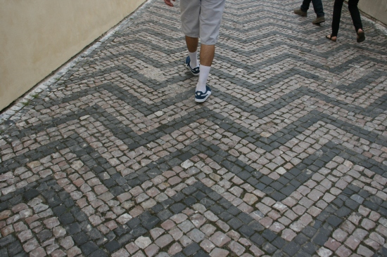 Cobblestoned streets of Europe