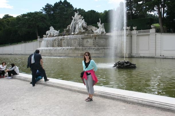 Schonbrunn Palace in Austria