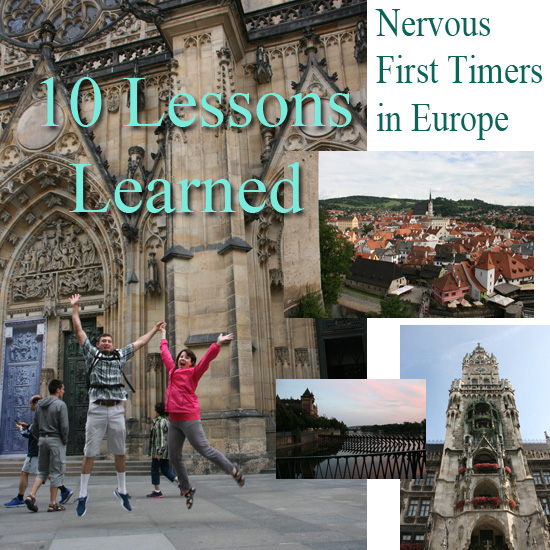 Nervous First Timers in Europe - 10 Lessons Learned {Saving up for Disney}
