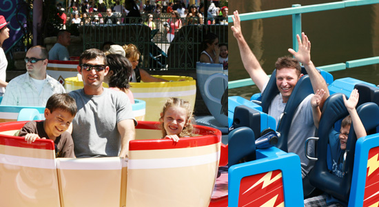 An anti-nausea patch is a must if these rides make you sick! {Saving up for Disney}