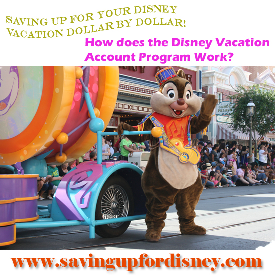 Have you heard of this very cool (and free) way of saving up for your Disney vacation?