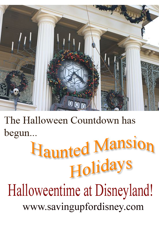 Haunted Mansion Holiday at Disneyland {Saving Up for Disney}