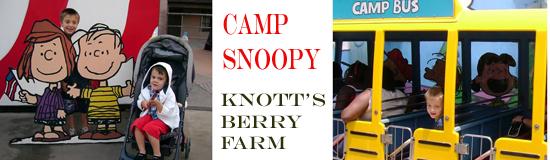 Camp Snoopy - Knott's Berry Farm