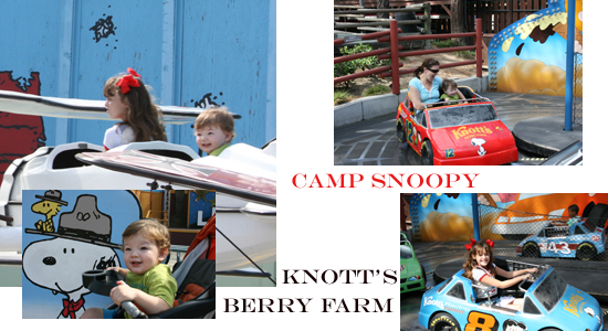 Camp Snoopy - Knott's Berry Farm