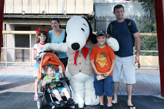 Camp Snoopy at Knott's Berry Farm, Buena Park California