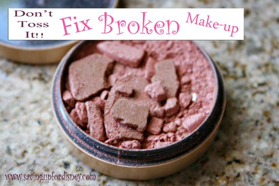 Don't toss it!! Fix your broken make-up {Tutorial}