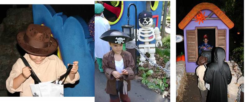 Legoland California Brick or Treat Halloween Party