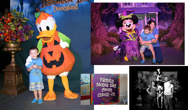 #Halloweentime at Disneyland Family Media Day event