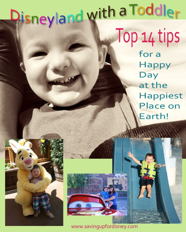 Top 14 Tips - Disneyland with a Toddler
