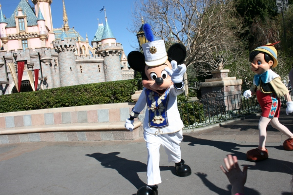 Bandleader Mickey at Disneyland!