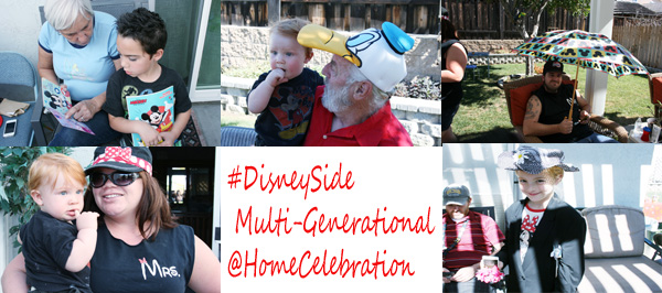 #DisneySide @HomeCelebration 2015 - A Multi-Generational Party!